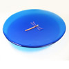 Blue Dragonfly Plate 105 NEW