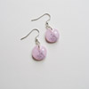 Pink & Grey Earrings 235