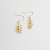 Yellow Tulip Earrings 241 NEW