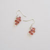 Coral Bubble Earrings 251 NEW