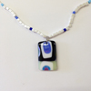 Blue & White Necklace 271 NEW