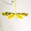 Bright yellow moth 113 SOLD